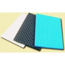 Mousse pour filtration x 3  (bleu, noire, blanc) 1050 x 525 mm