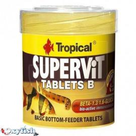 Supervit tablets b tablettes adhesives -boite 50 ml 200 tablettes