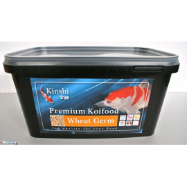 Nourriture pour koi germe de ble 6 mm kinshi premium 5 litres