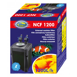 FILTRE EXTERIEUR NCF-1200 L/H +400gr charbon +400gr céramiques