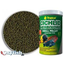 Cichlid herbivore small pellet - boite 250 ml