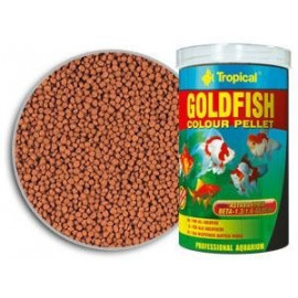 Goldfish color  pellet - boite 250 ml