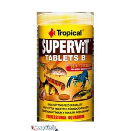 Supervit tablets b -tablettes pour le fond - boite 250 ml
