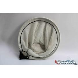 Epuisette diam.35 cm blanche fine