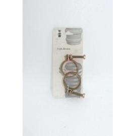 Etrier de serrage 24-28 mm blister de 2