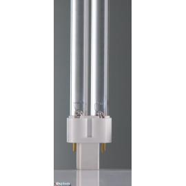 Lampe uv pl-s - 9 watts - 2 poles - xclear