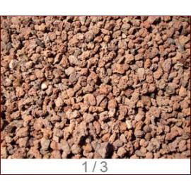 Pouzzolane diam 1/3mm sechee/depoussieree sac de 3 kg