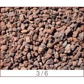 Pouzzolane diam 3/6 mm sechee/depoussieree sac de 10 kg