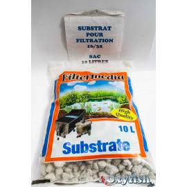 Substrat de filtre 16/32 sac 10 litres