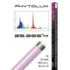 Tube t8 25000° phytolux 25 watt- 740 mm
