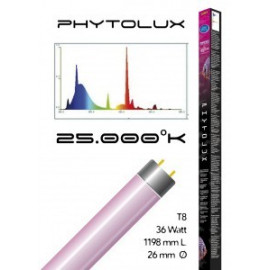 Tube t8 25000° phytolux 36 watt- 1198 mm