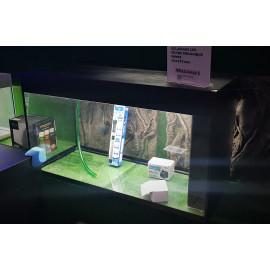 Aquarium equipe 150 x 40 x 55 eclairage led 300 litres