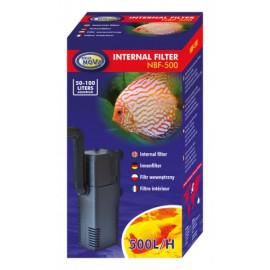Filtre Interne 500 L/H pour aquarium de 100 Litres