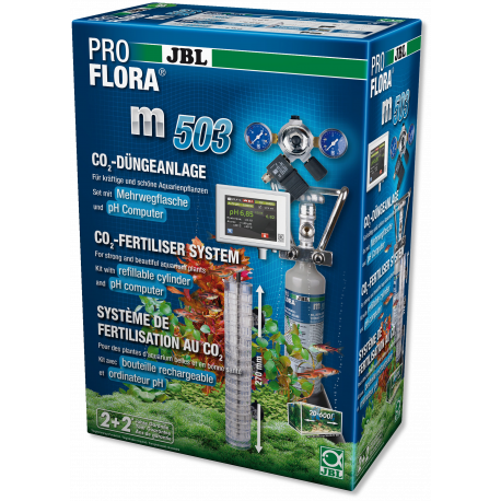 JBL PROFLORA m503 Système de fertilisation des plantes aquatiques avec contrôleur pH