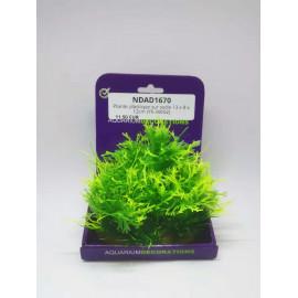 Plante plastique sur socle 13 x 8 x 12cm (YS-30602)