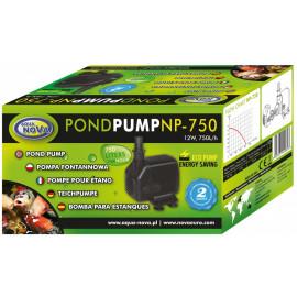 POMPE BASSIN 750 L/H POUR FILTRATION OU FONTAINE