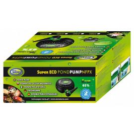 POMPE DE BASSIN SUPER ECO 6500 H/L 32W AVEC CONNECTEUR POUR ÉCUMEUR