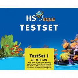 HS Aqua - SET DE TEST pH/NH4/NO2