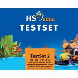 HS Aqua - SET DE TEST GH/KH/NO3/PO4