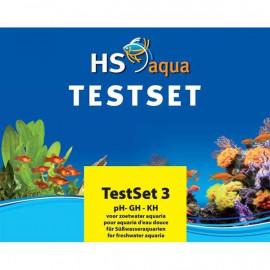 HS Aqua - SET DE TEST pH/GH/KH