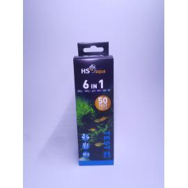 HS Aqua - Test bandelettes 6 en 1 - 50 bandelettes