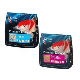 PROMO 1 Nourriture Kinshi Koï Basic (3mm) + 1 Nourriture Kinshi Koï Promix (6mm)