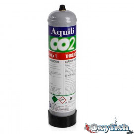 Bouteille CO2 jetable 11 x 1.5 - 500 gr