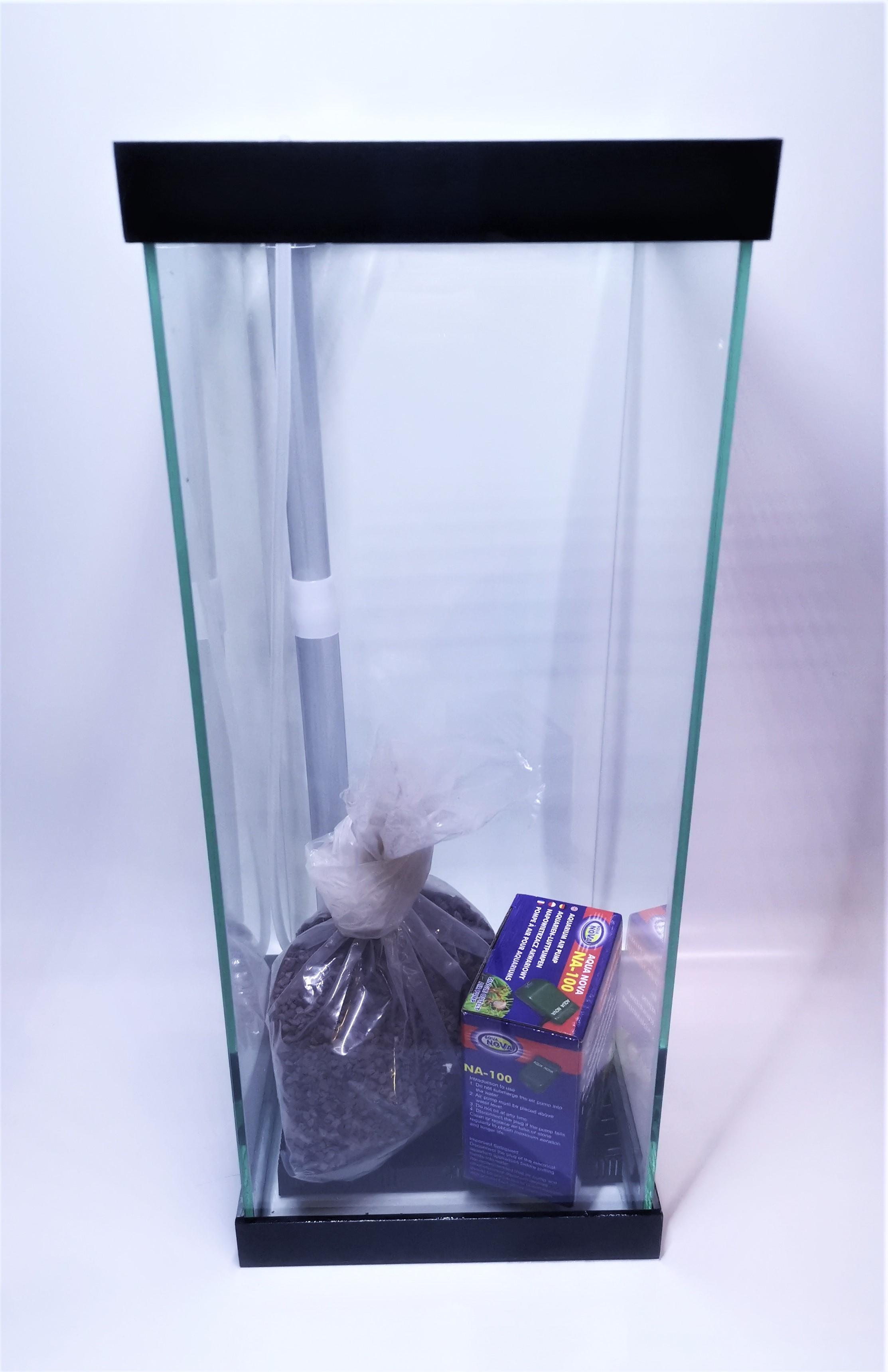 aquarium sur mesure panama noir colonne