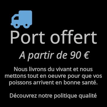 Port Offert chez Oxyfish, sous conditions